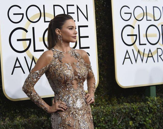 Sofia Vergara błyszczała na Złotych Globach - zobaczcie jej kreację! (FOTO)
