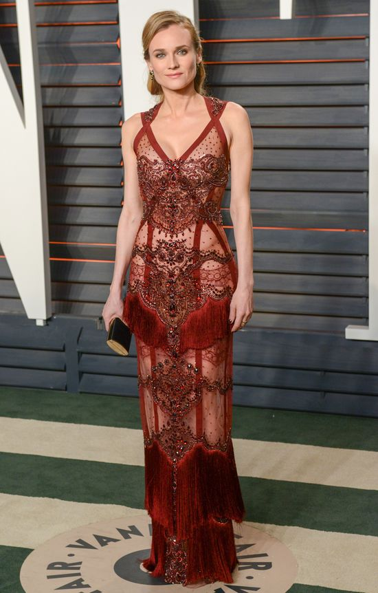 Diane Kruger najpiękniejsza na Vanity Fair Oscar Party