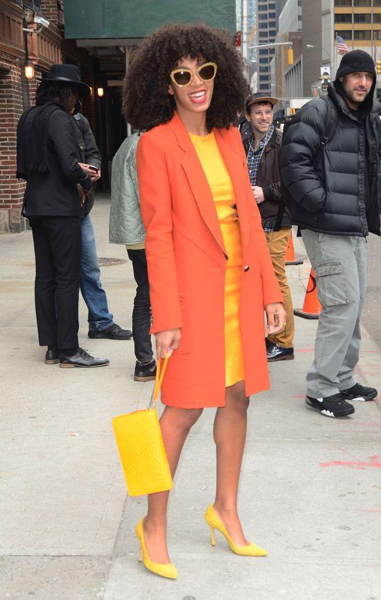 Solange Knowles bawi się modą (FOTO)