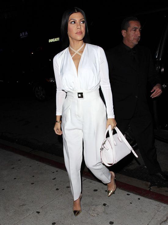 Kourtney Kardashian chuda jak nigdy (FOTO)