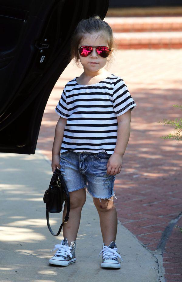 Szok! Penelope Disick ma dopiero 4 lata, a już nosi doczepy!