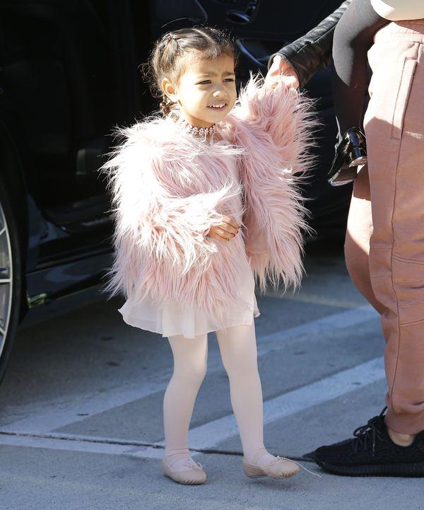 Kim Kardashian zaczyna ubierać Nori tak jak siebie?
