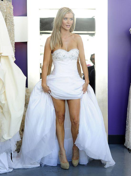 Joanna Krupa wybiera suknię ślubną (FOTO)