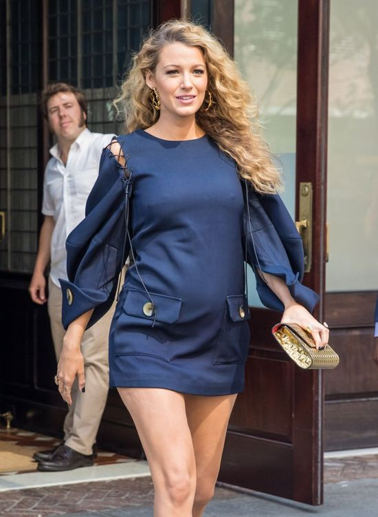 Blake Lively ponownie zachwyca ciążową stylizacją (FOTO)