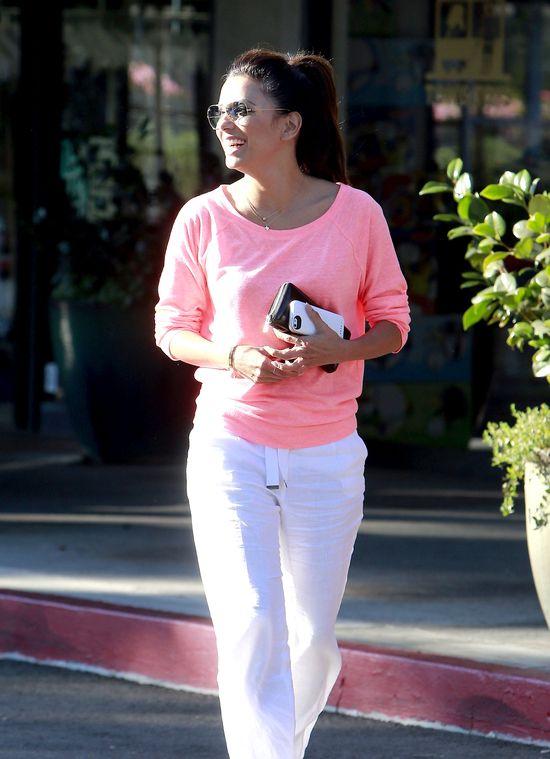 Eva Longoria postawiła na dodatki (FOTO)