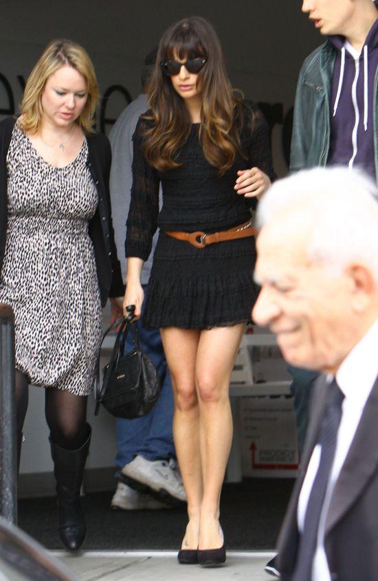 Lea Michele i jej długie nogi (FOTO)