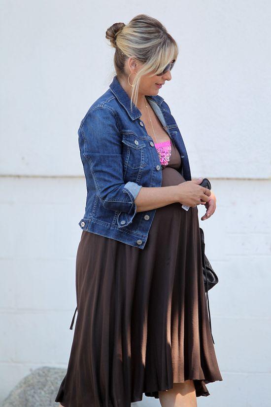 Ciążowy look Sarah Michelle Gellar (FOTO)