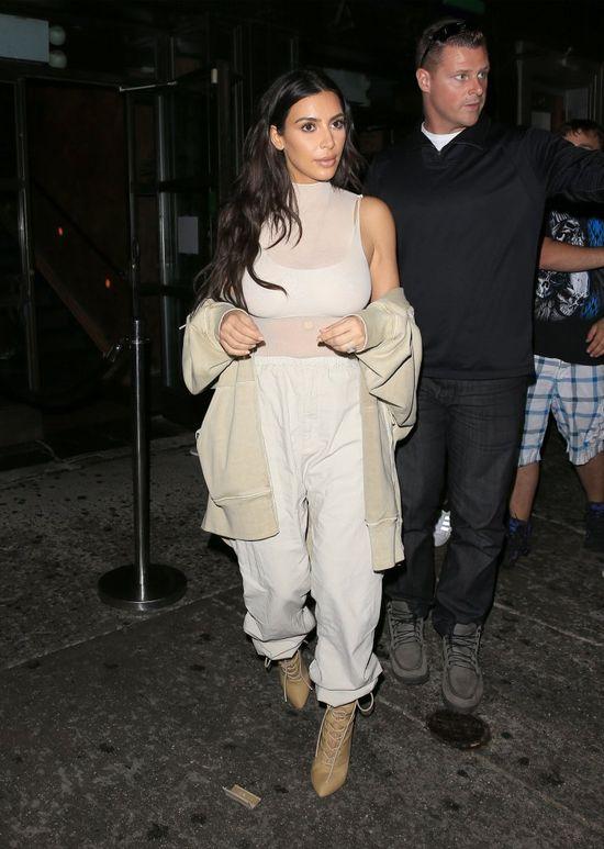 Wow! Kim Kardashian znów wygląda dobrze! (FOTO)