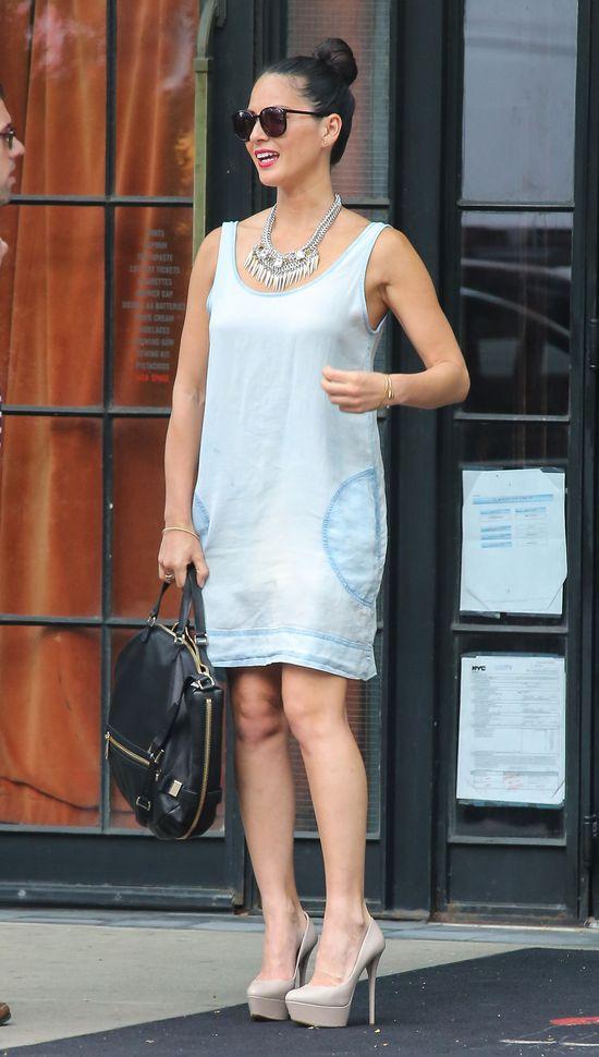 Diane Kruger i Olivia Munn w jasnych stylizacjach (FOTO)