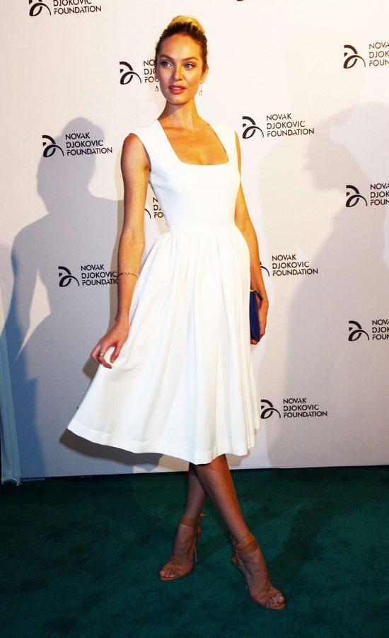 Plejada modelek na gali Novak Djokovic Foundation