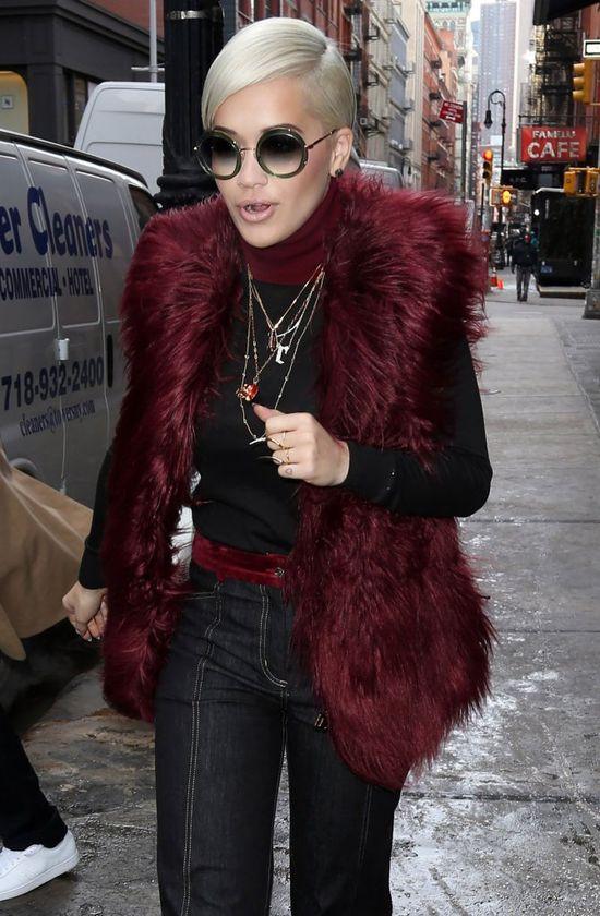Rita Ora też ma nową fryzurę (FOTO)