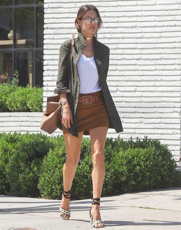 Znana modelka zachwyca swoim stylem (FOTO)