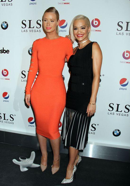 Rita Ora i Iggy Azalea błyszczały w Las Vegas (FOTO)