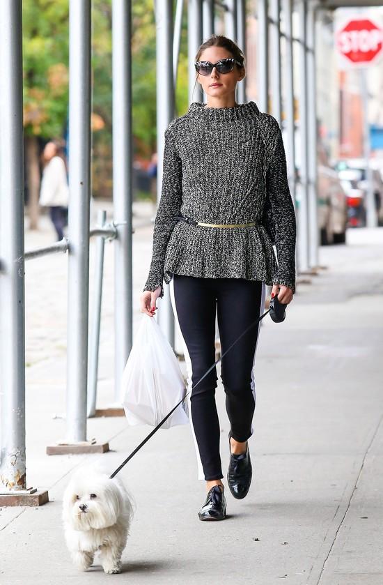 Na Allegro: Melanżowe swetry w stylu Olivii Palermo