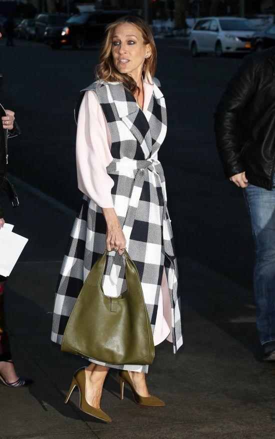 Sarah Jessica Parker w butach własnego projektu (FOTO)