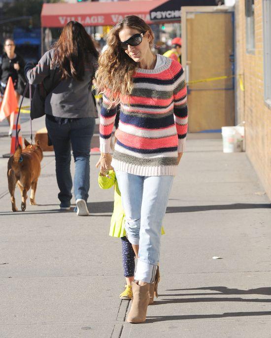 Sarah Jessica Parker wytycza trendy na jesień (FOTO)