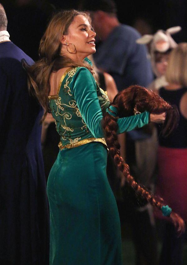 Seksowna Sofia Vergara zamieniła się w Fionę ze Shreka!