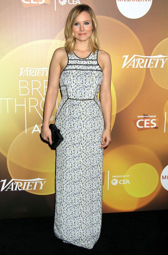 Kristen Bell At 2014 Variety Breakthrough Of The Year Awards In Las ...