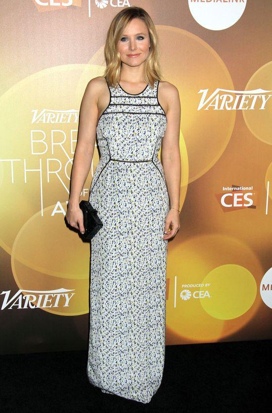 Kristen Bell w sukience maxi (FOTO)
