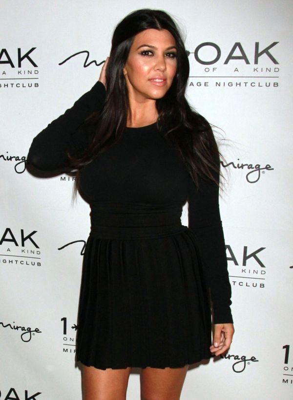 Kourtney Kardashian wróciła już do formy po porodzie? (FOTO)