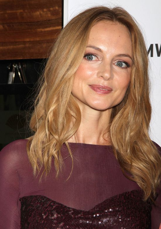 Heather Graham w seksownej kreacji (FOTO)