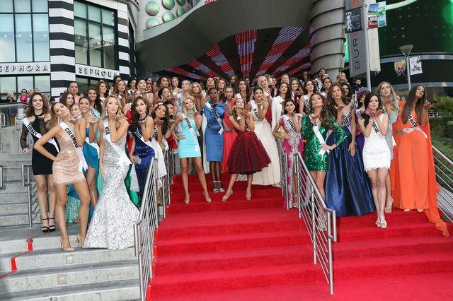 Paulina Vega na 2015 Miss Universe Welcoming Event (FOTO)