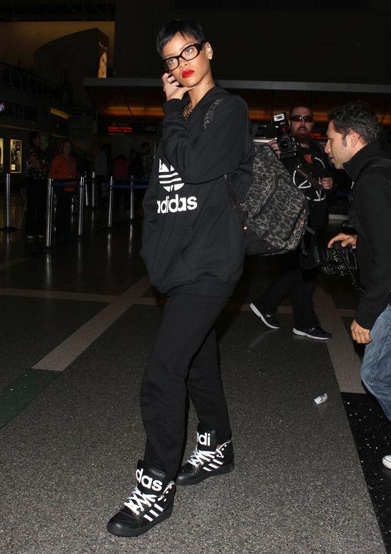 Rihanna cała w Adidasie (FOTO)