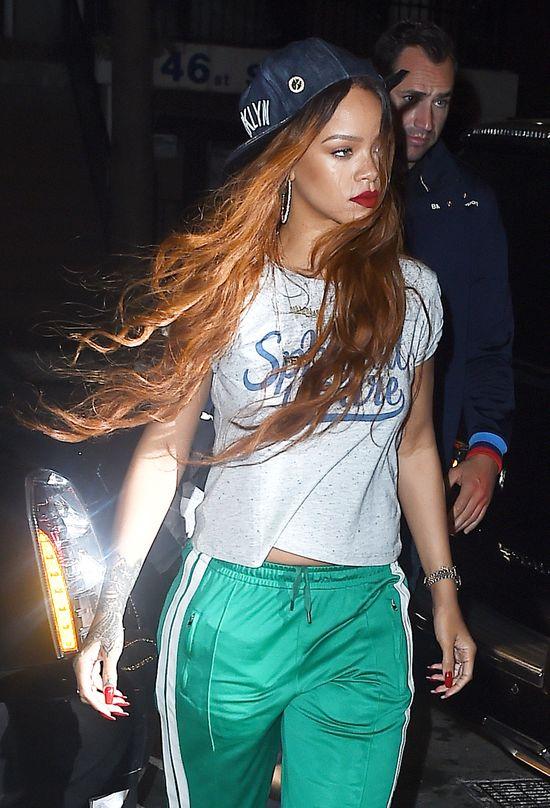 Rihanna ma nową perukę -  została syrenką (FOTO)