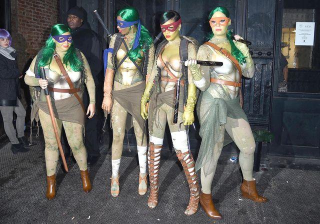 Rihanna została... Żółwiem Ninja! (FOTO)