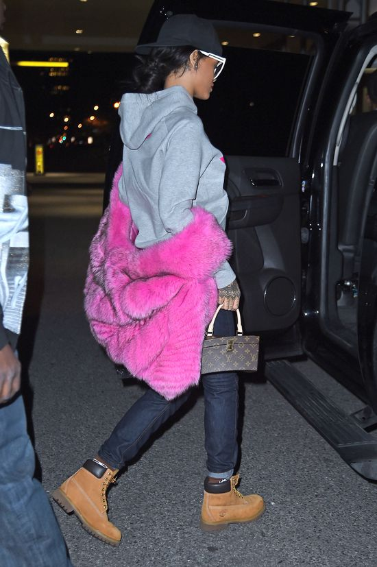 Różowe futro, Timberlandy i Louis Vuitton - HIT czy KIT?