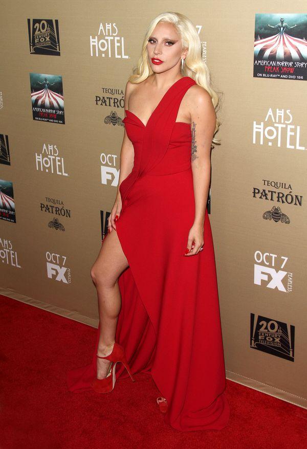 Lady Gaga chyba nie miała ochoty na seksowne pozowanie...
