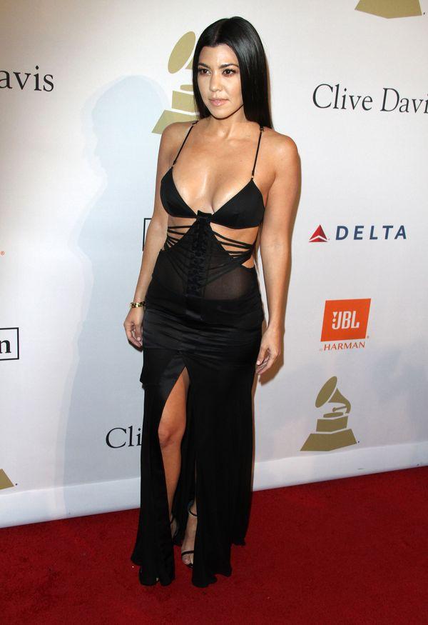 Gwiazdy w czerni na imprezie przed Grammy - kto nosi ją najlepiej? (FOTO)
