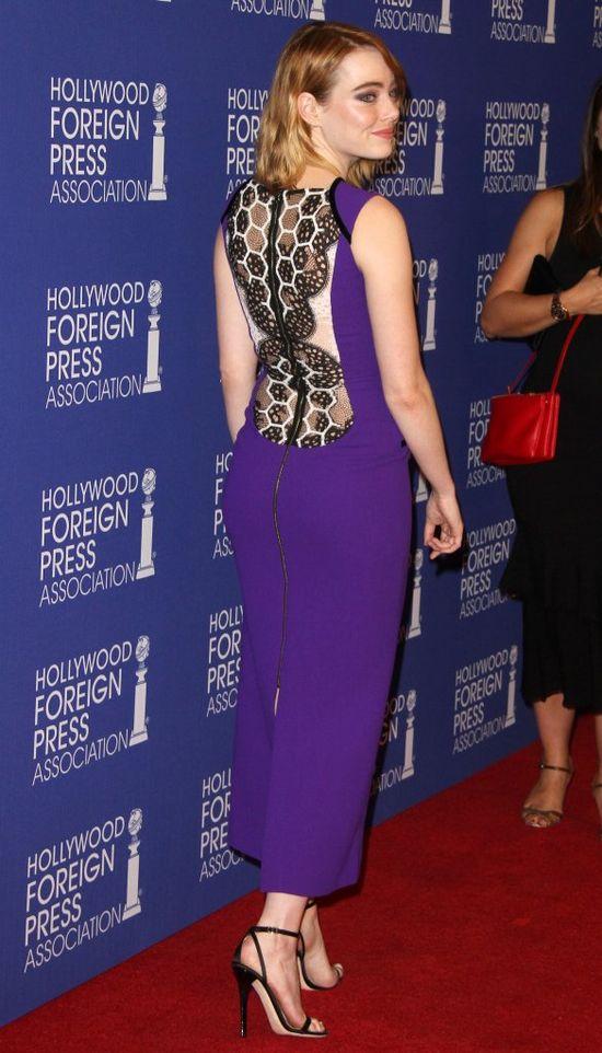 Emma Stone założyła sukienkę, którą Internauci nazwali... ochydną!