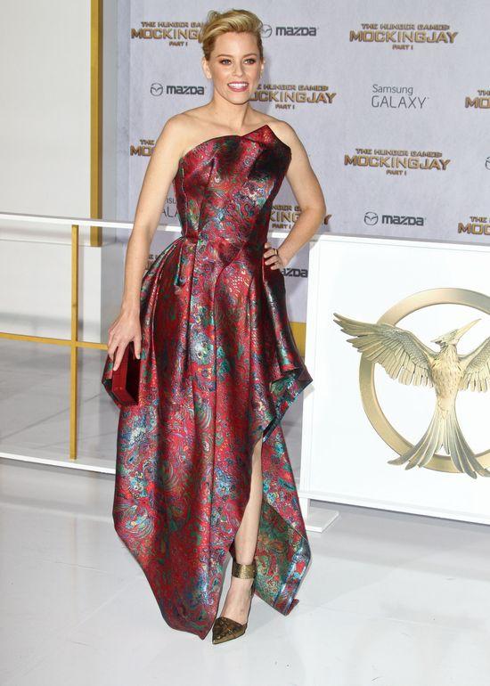 Kreacje gwiazd na premierze Hunger Games: Kosogłos (FOTO)