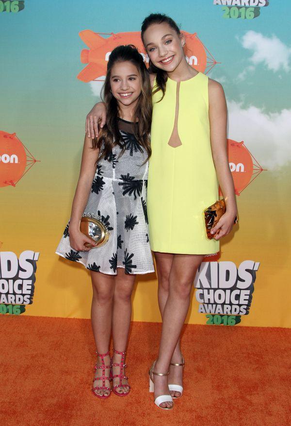 Maddie Ziegler królową reporterów na imprezie Nickelodeon