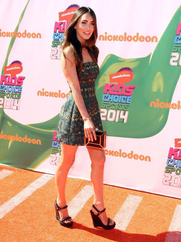 Seksowna Megan  Fox na gali Nickelodeon (FOTO)