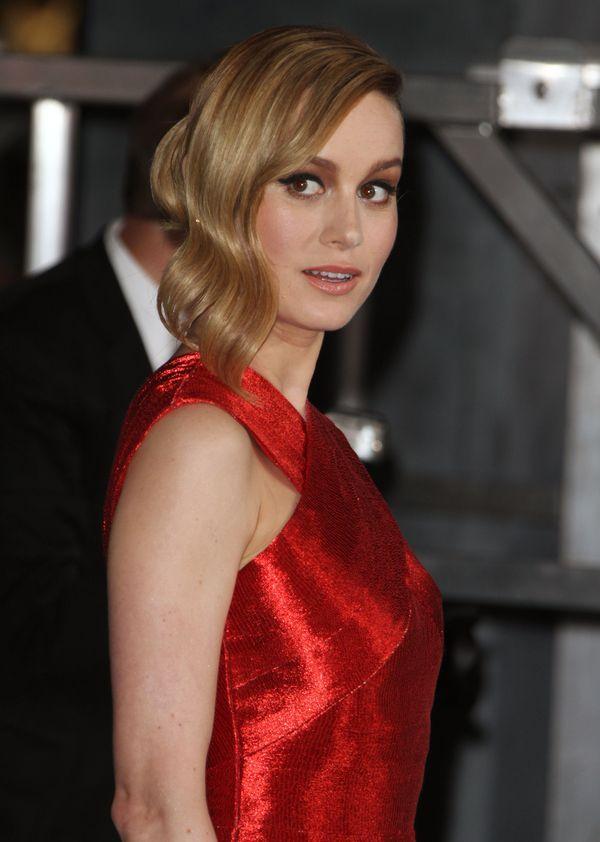 Zastanawiamy się, jak Brie Larson mogła oddychać w tej sukience... (FOTO)