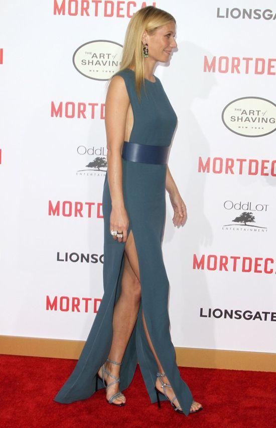 Gwyneth Paltrow w Lanvin, Olivia Munn w Ralph Rucci (FOTO)