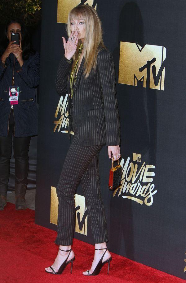 Gigi Hadid i jej nowa dziwna fryzura na MTV Movie Awards 2016
