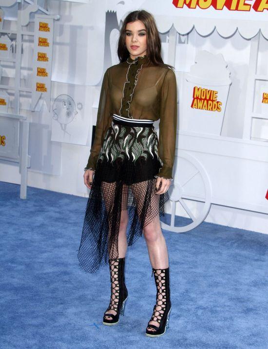 Hailee Steinfeld i Shailene Woodley zawojowały galę MTV