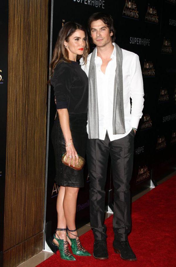 Ian Somerhalder pokazał urocze video ze ślubu z Nikki Reed