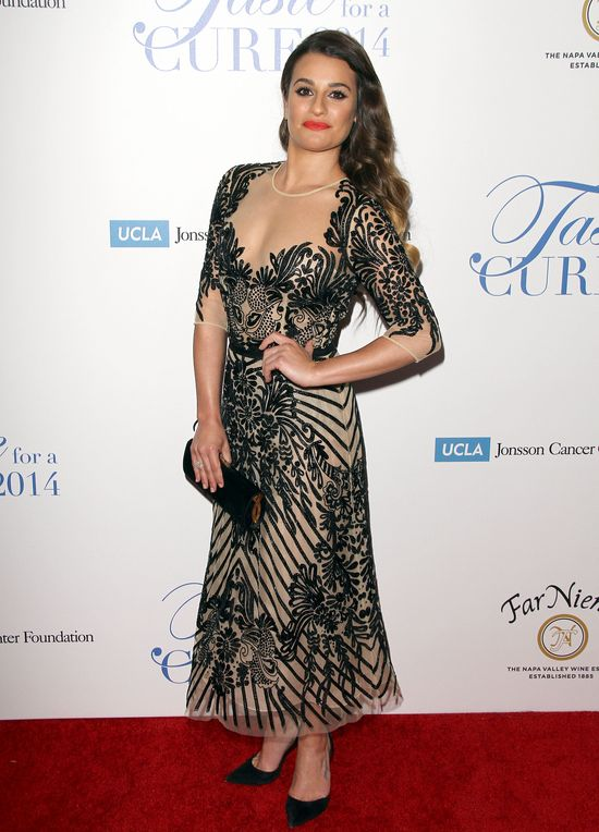 Lea Michele jak diva! (FOTO)