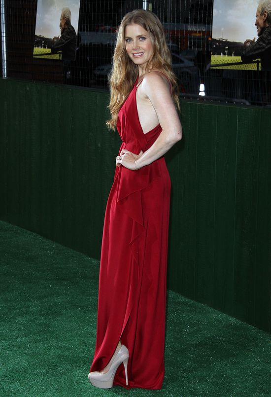 Amy Adams w czerwonej sukni Roksanda Ilincic (FOTO)