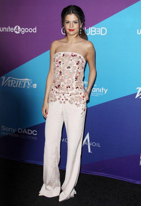 Selena Gomez w kombinezonie Antonio Berardi (FOTO)
