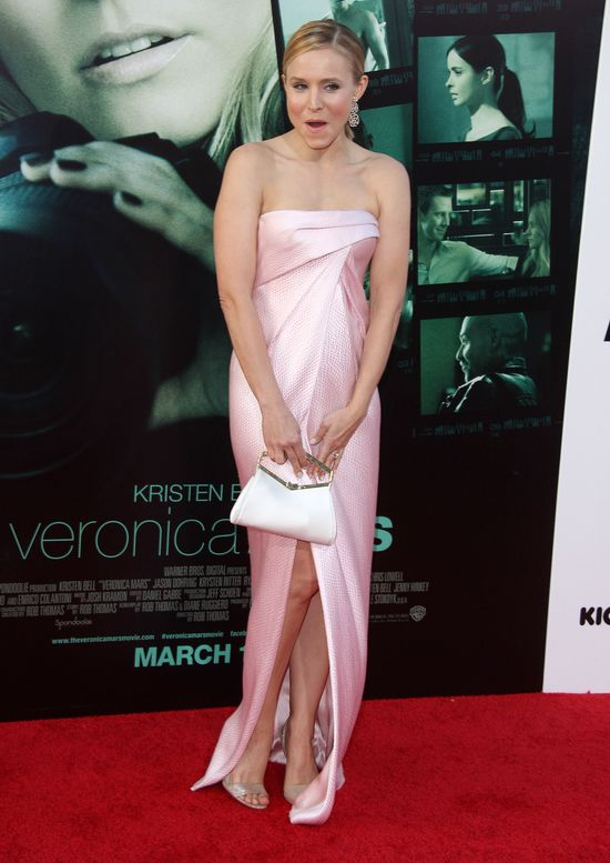 Kristen Bell - wpadka goni wpadkę (FOTO)