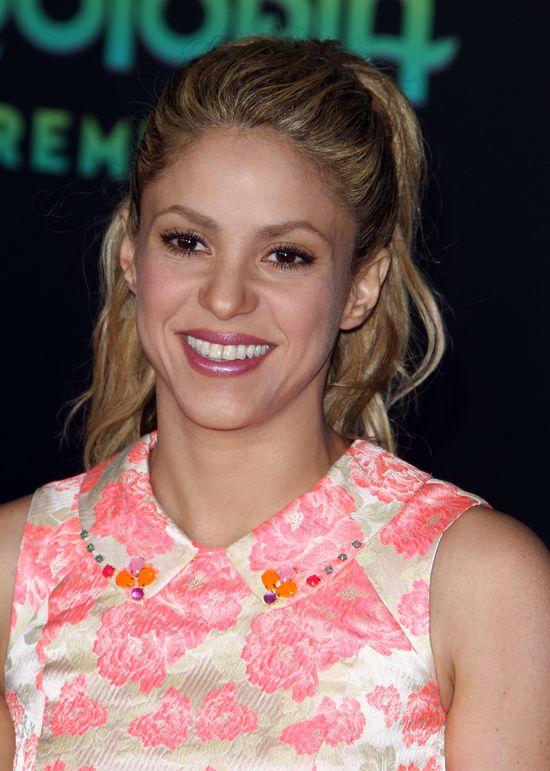 Shakira zachwyciła w wiosennej sukience mini (FOTO)