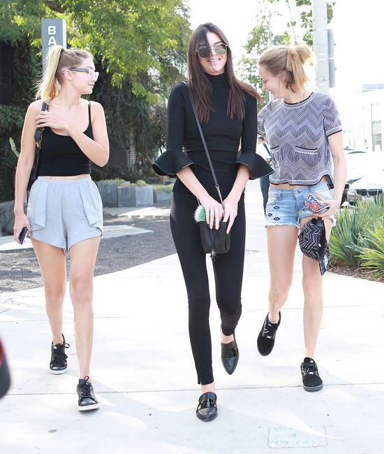 Kendall Jenner, Cara Delevingne i Gigi Hadid na zakupach