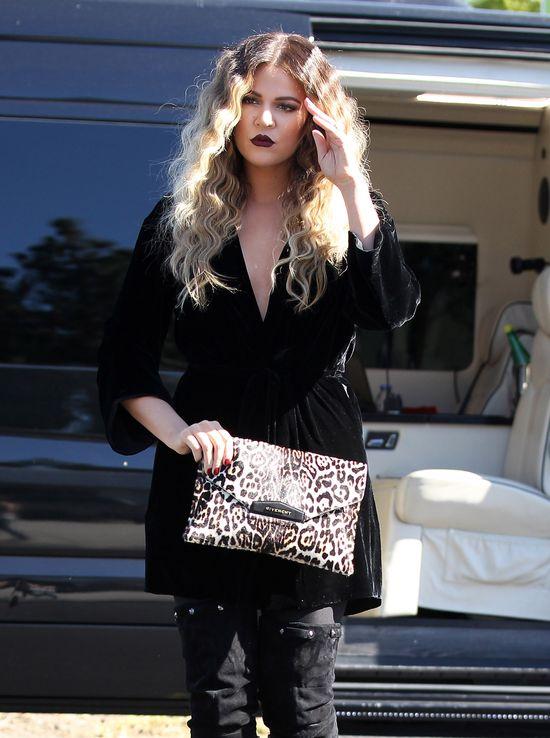 Khloe Kardashian w wersji blond! (FOTO)
