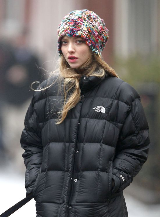 Zimowy look Amandy Seyfried (FOTO)