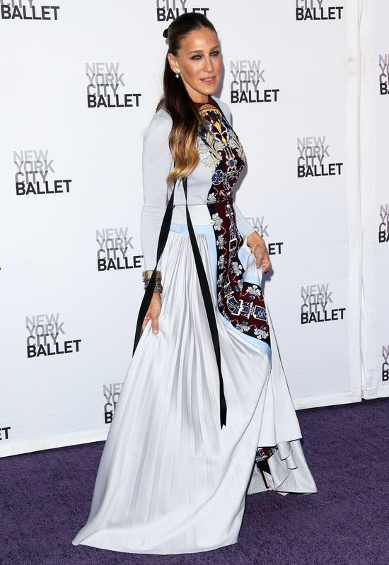 Sarah Jessica Parker w ryzykownej sukience Mary Katrantzou
